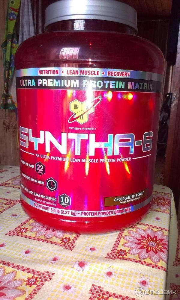 Syntha-6 от bsn: отзывы, состав и как принимать протеин