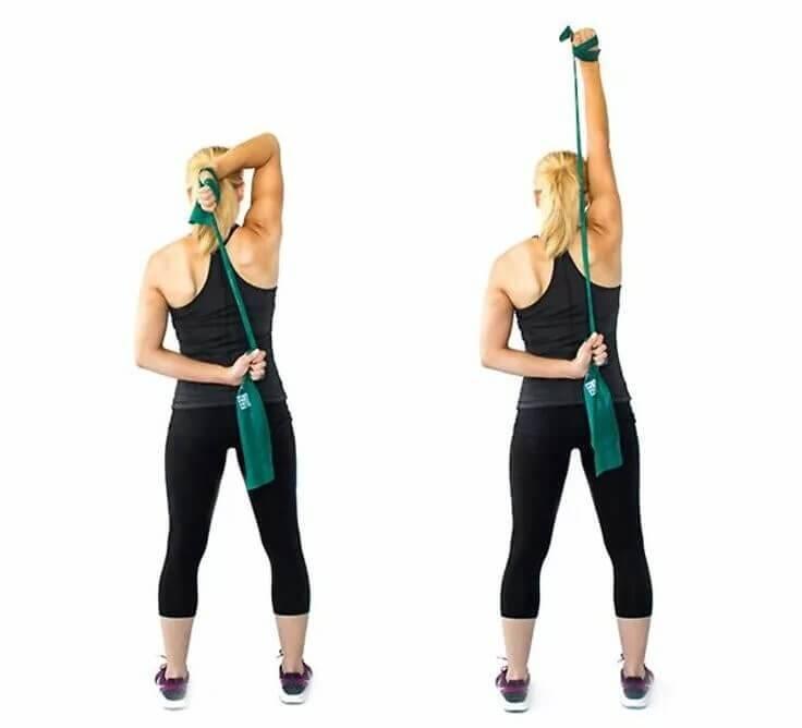 Что такое эластичная (эспандер) лента: упражнения дома