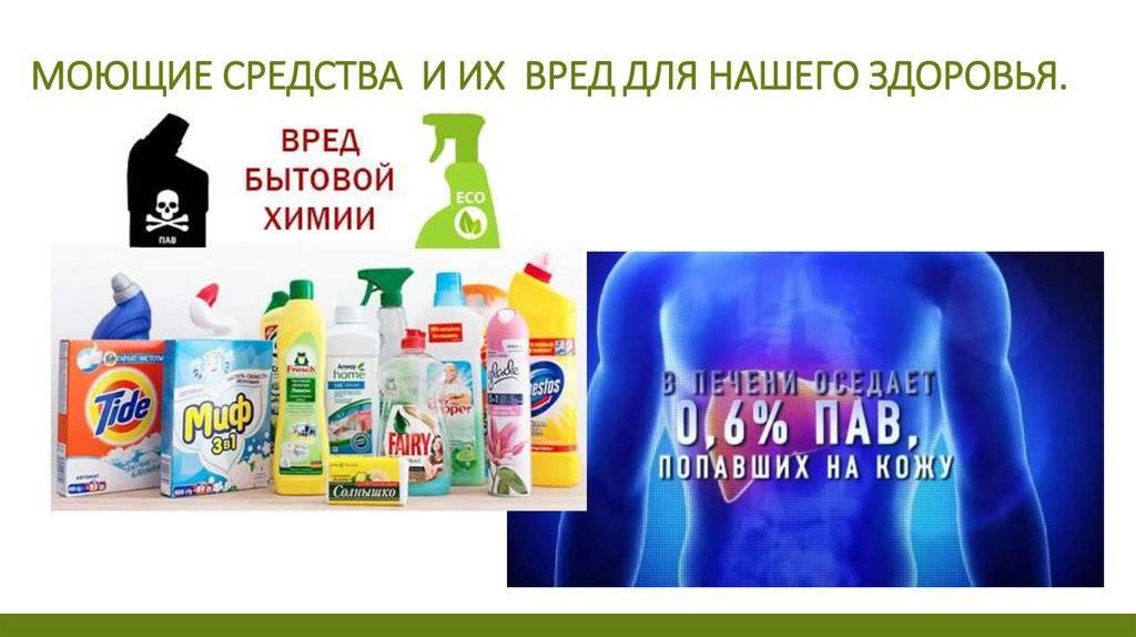 Самые опасные средства для поддержания чистоты в квартире: перечень, вред, как применять
