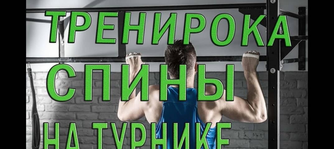 Упражнения на спину на улице —воркаут-тренировка для новичков
