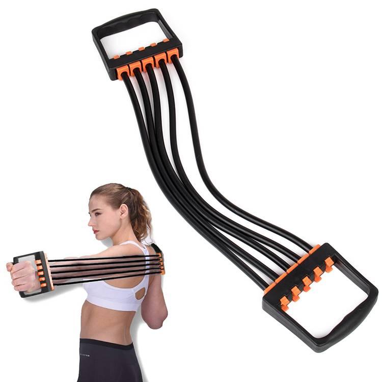 Упражнений с эспандером для мужчин: занятий дома для рук, грудныи и других мышц тела