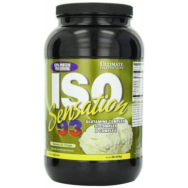 Iso sensation (ultimate nutrition)
