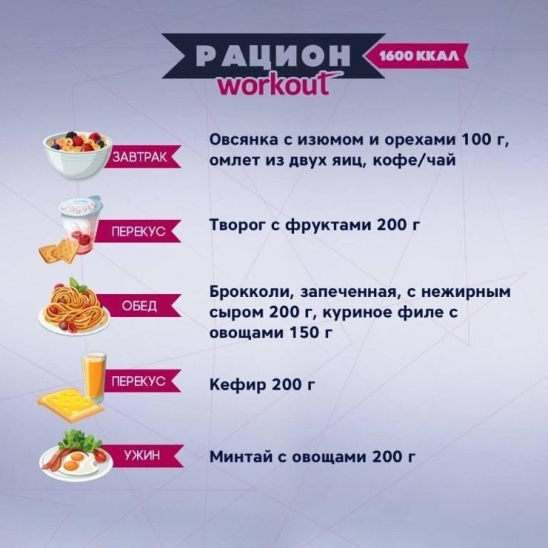 Меню на 1500 калорий в день. примерное меню на 1500 ккал