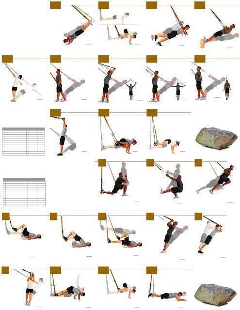 Комплекс упражнений с trx петлями для начинающих спортсменов