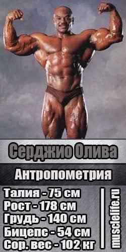 Антропометрия (замеры тела) в бодибилдинге