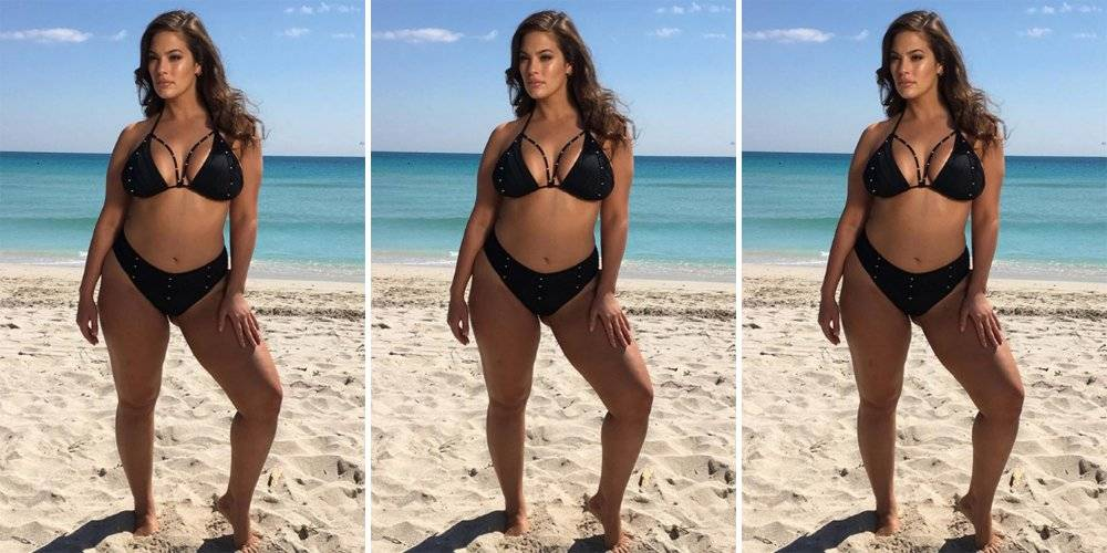 Как реально выглядят модели plus-size: 7 фото до и после фотошопа