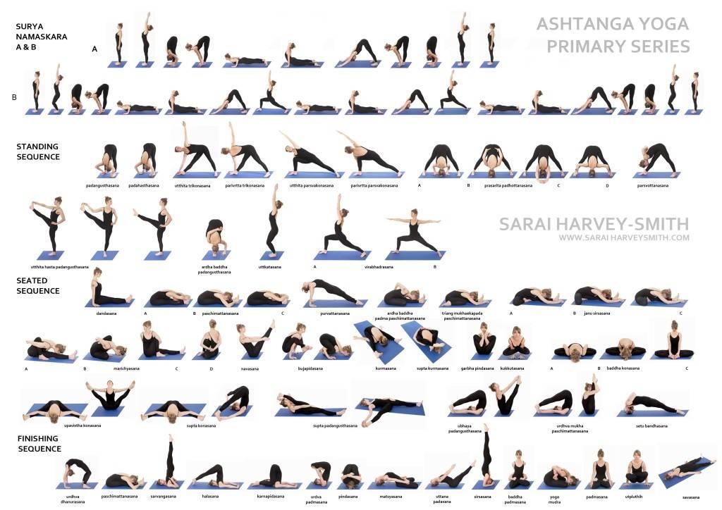 Фото йоги - основные асаны с описанием