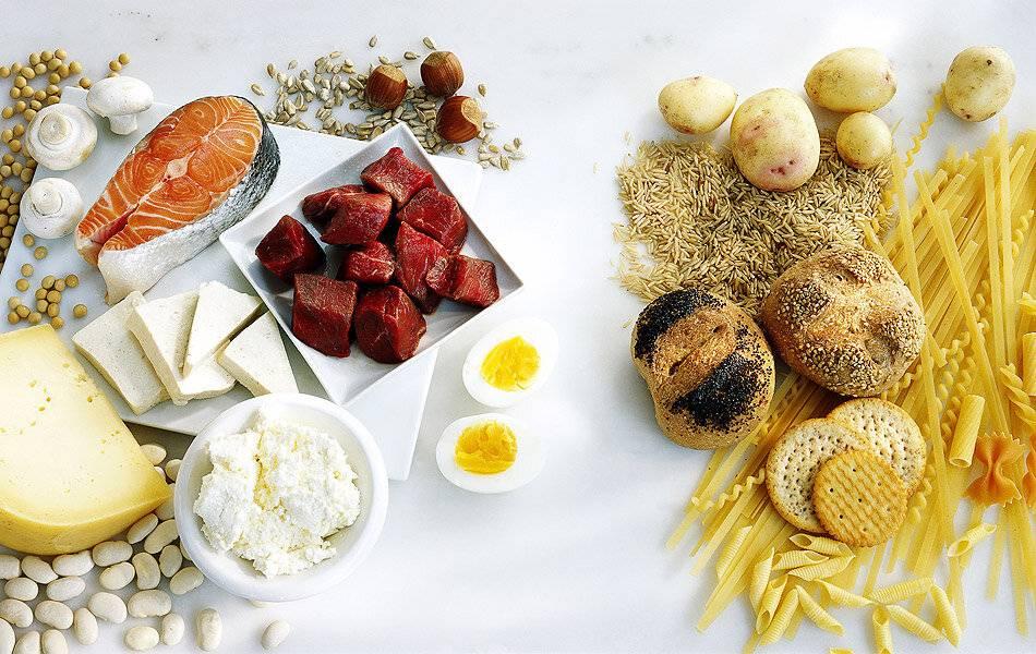 Меню диета белково углеводного чередования | гидиет