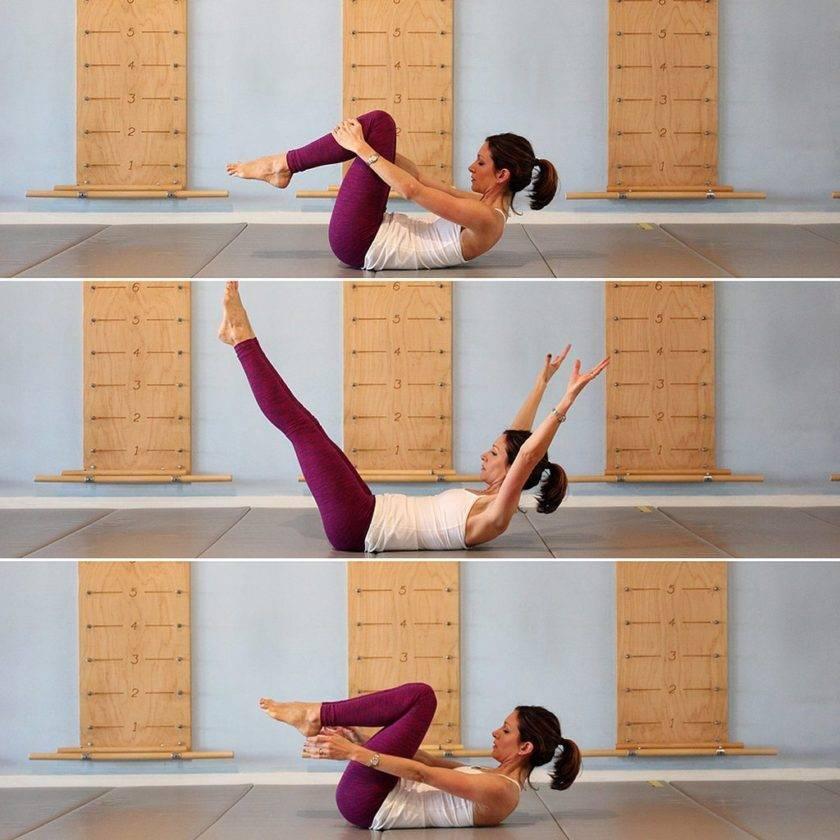 Упражнения по пилатесу для начинающих в домашних условиях