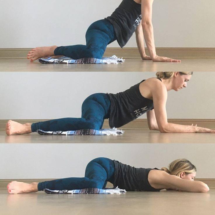 Упражнение лягушка для растяжки ног