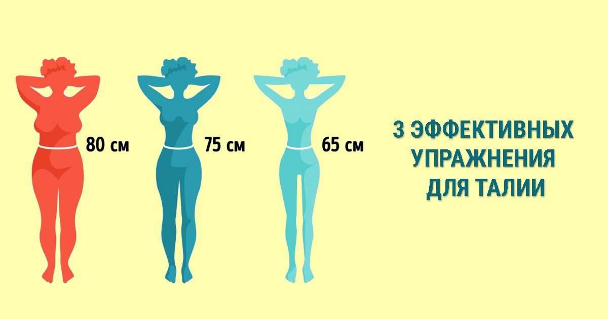 Упражнения для тонкой талии и плоского живота, в домашних условиях