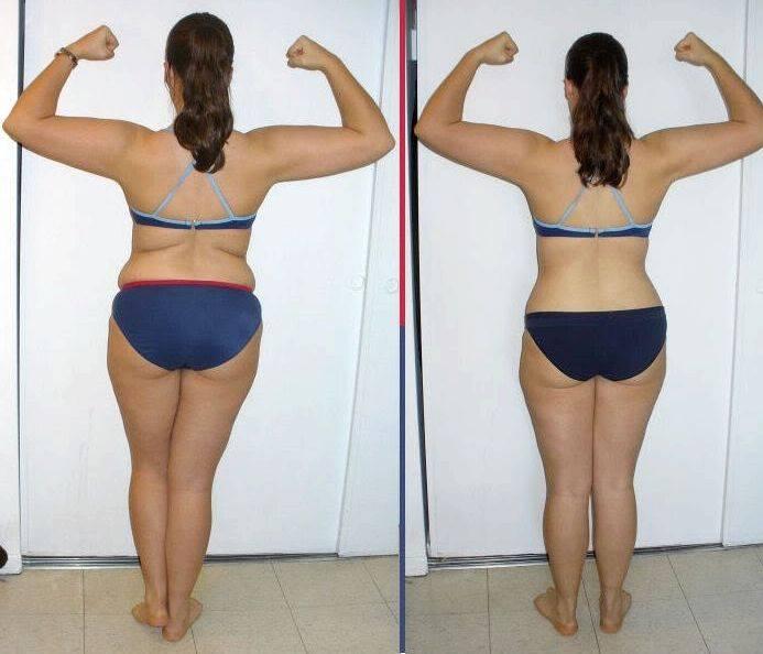 Как убрать жир со спины