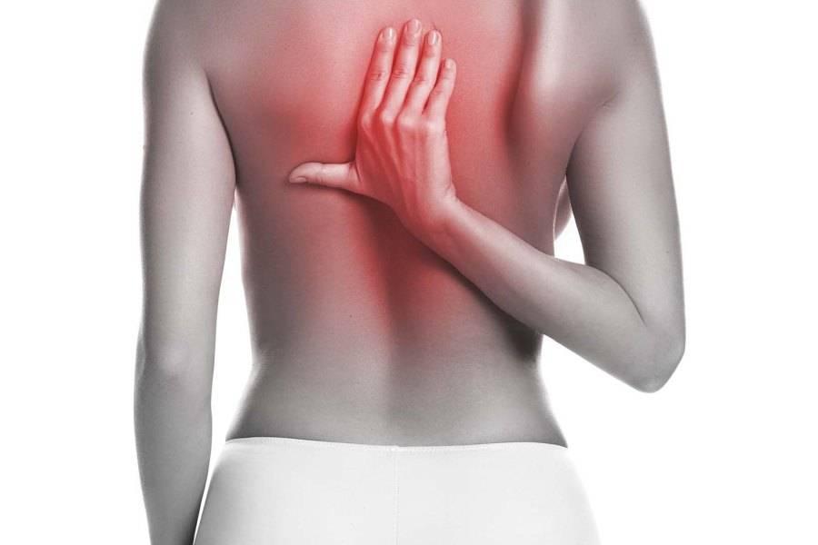 Боль в лопатках на спине - причины, типы болевых ощущений, лечение