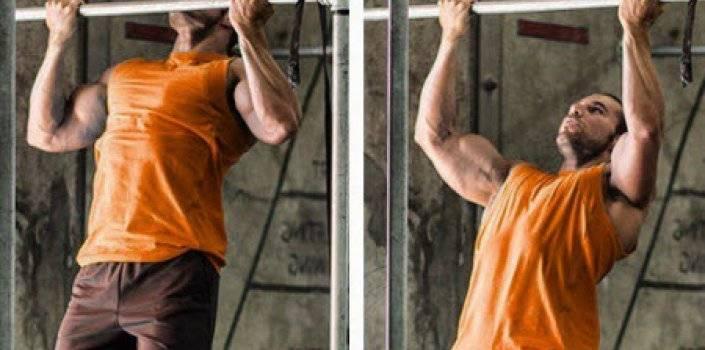 Как накачать бицепс на турнике и брусьях: можно ли добиться результата, упражнения для подтягивания мускулатуры