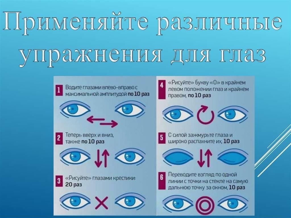 Памятка правил сохранения зрения