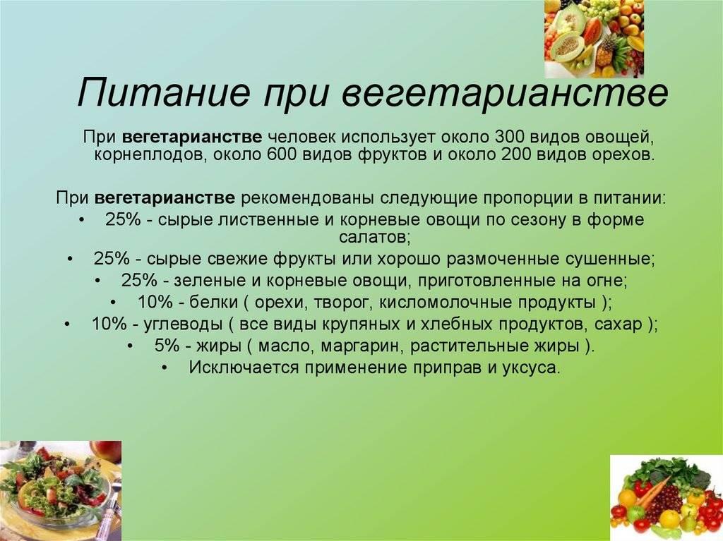 Вегетарианская диета: меню на неделю, отзывы о похудении - medside.ru