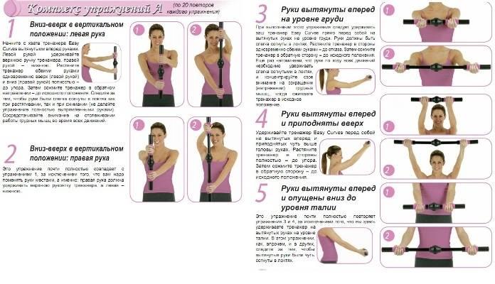 Упражнения для рук — чтобы не висела кожа на внутренней стороне руки