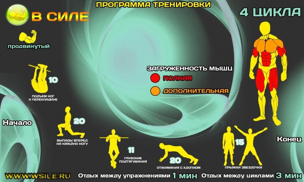 Кроссфит в домашних условиях: программа тренировок для начинающих