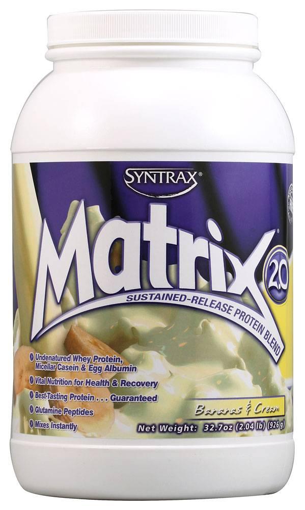 Syntrax matrix – качественный комплексный протеин без дешевых примесей