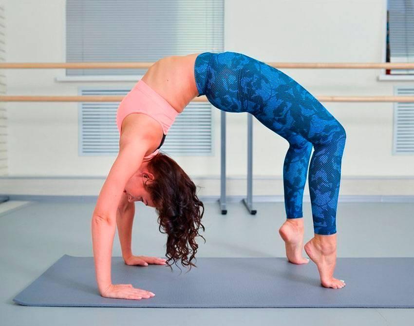 Польза гимнастического элемента «мостик»