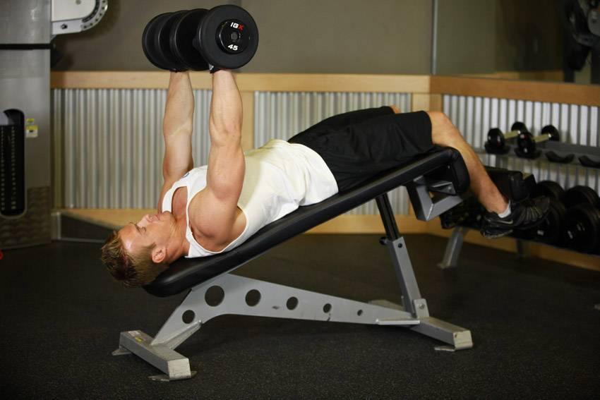 Жим головой вниз на наклонной скамье — в чем польза упражнения?
