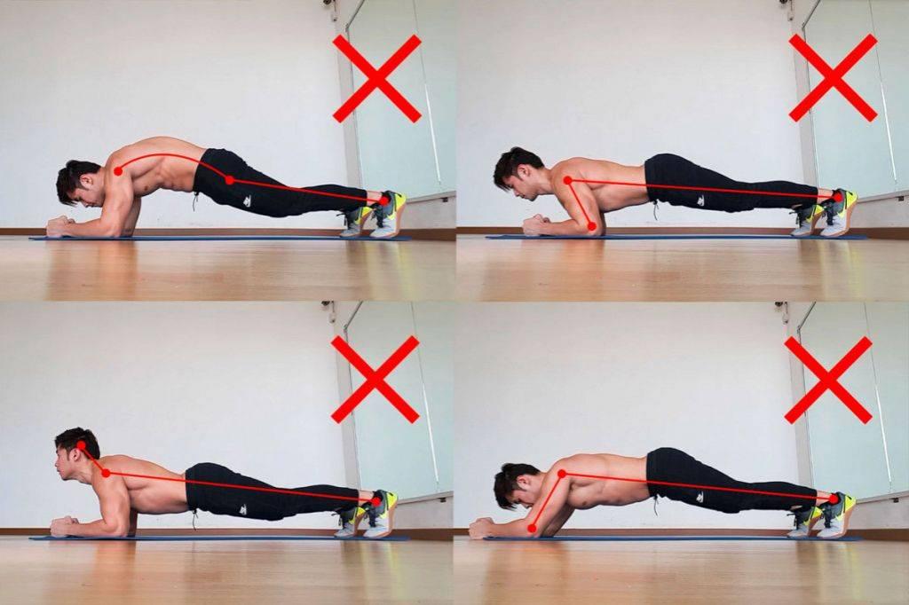Планка для мужчин: что дает упражнение и варианты выполнения