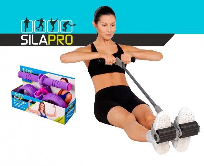 Комплекс упражнений с эспандером (резиновым, пружинным) для мужчин - обзор самых эффективных методик. фото и видео уроки по работе с эспандером