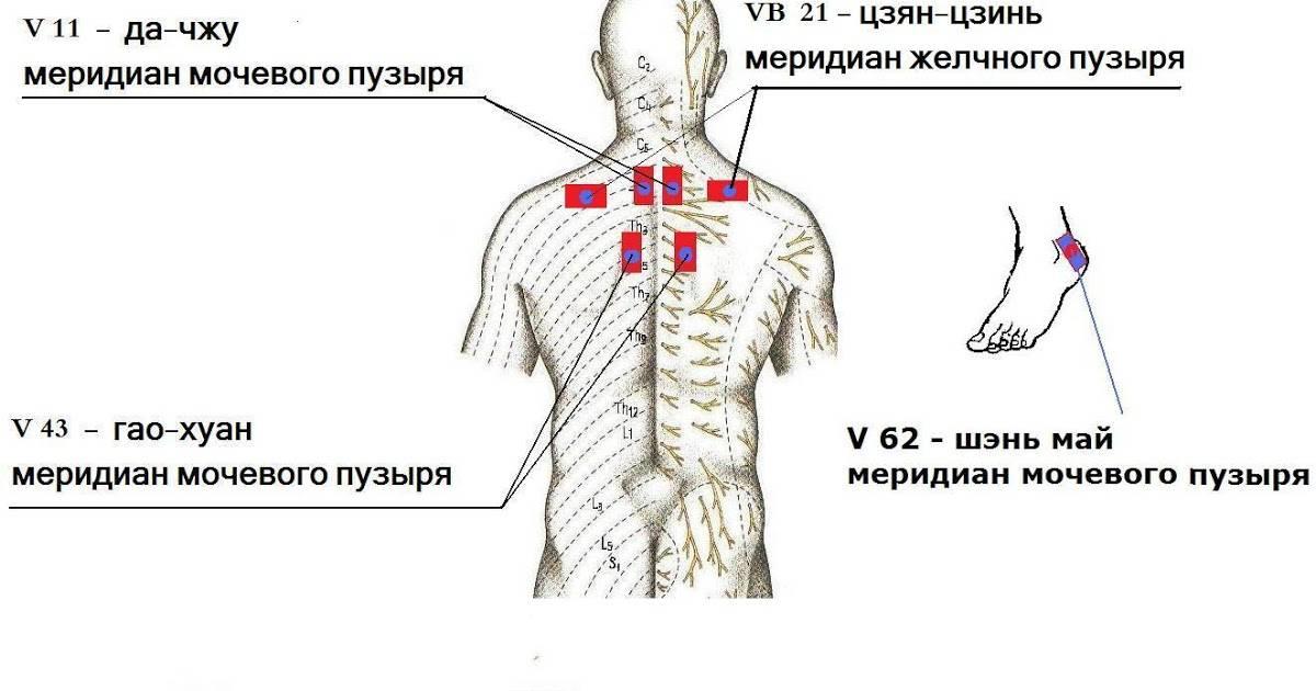 Боль под левой лопаткой сзади со спины: причины, лечение