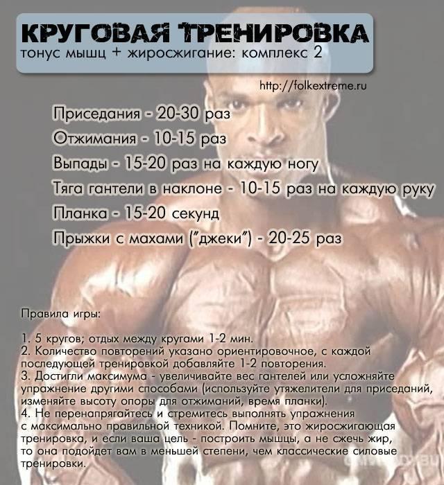 10 недельный программа тренировки для сжигания жира для мужчин и женщин