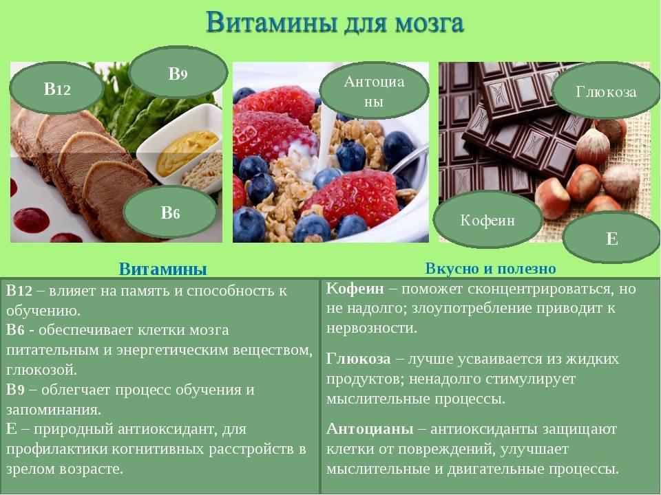 Правильное питание для улучшения работы мозга - еда для ума и памяти - l'officiel