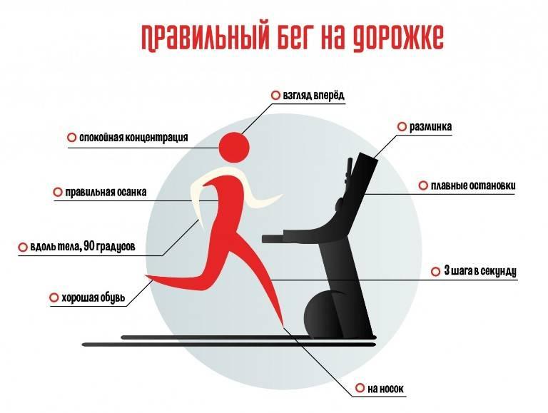 Как нужно заниматься на беговой дорожке, чтобы похудеть: как правильно бегать на тренажёре, принцип похудения