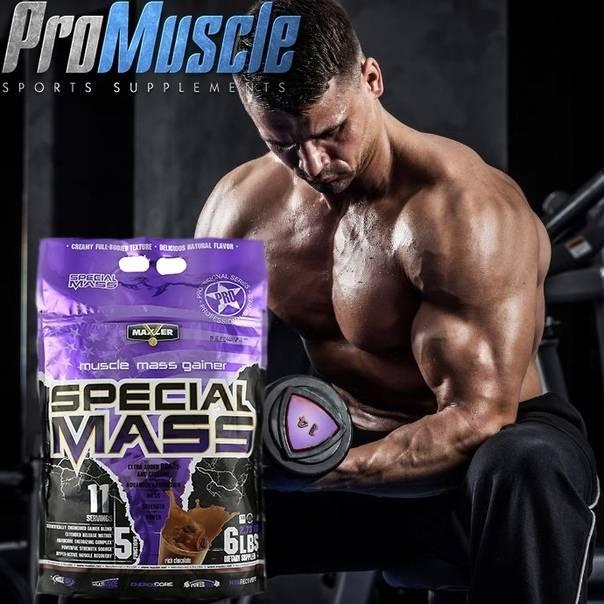 Как принимать гейнер special mass от maxler для набора мышечной массы?