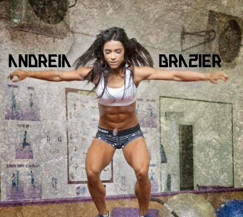 Андреа бразье (andreia brazier): параметры фигуры, программа питания и тренировок