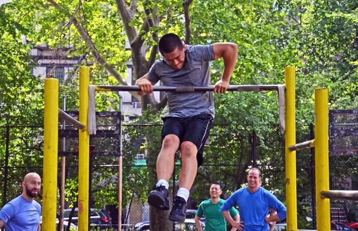 Выход силой: техника, польза, какие мышцы работают