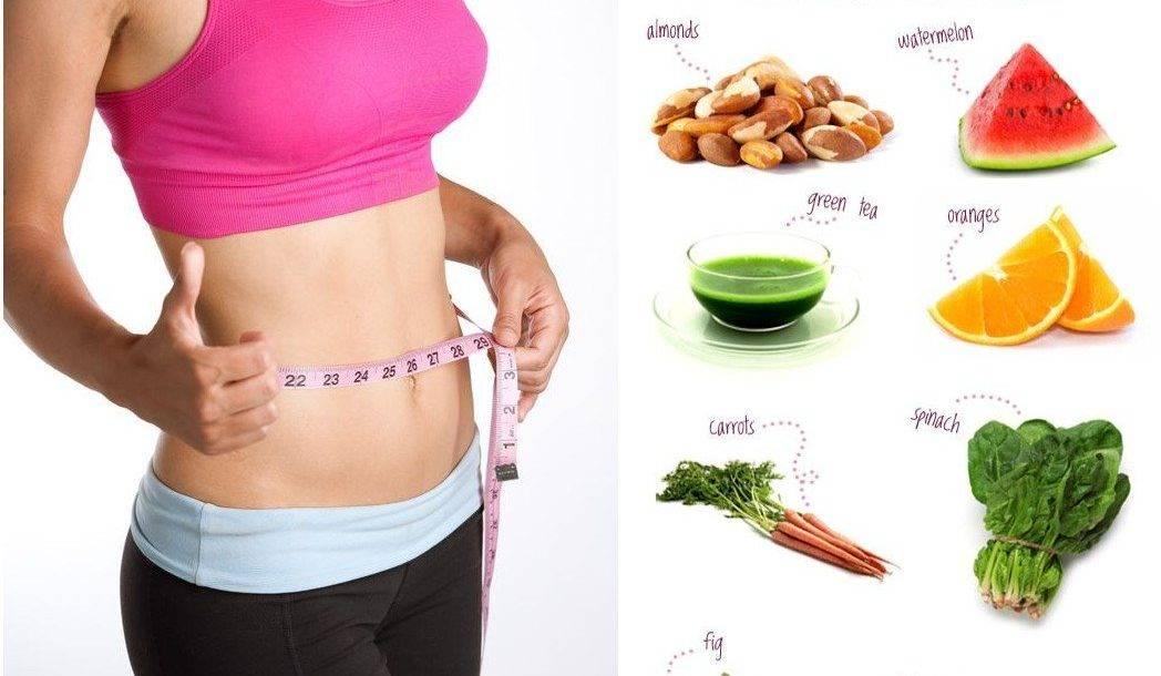Похудеть без диеты и убрать живот