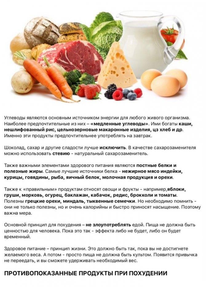 В поисках полезных углеводов — что кушать, а какие продукты избегать