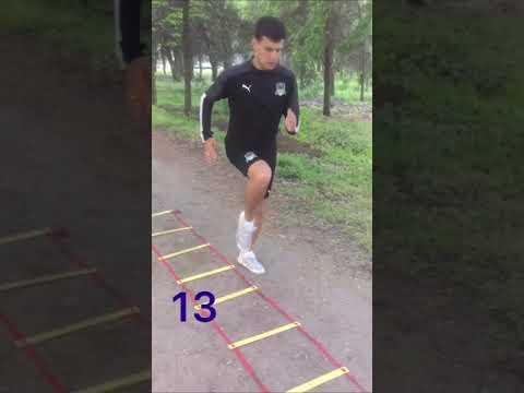 """Упражнения с координационной лестницей - мбу """"спортивная школа"""" г. ялта"""