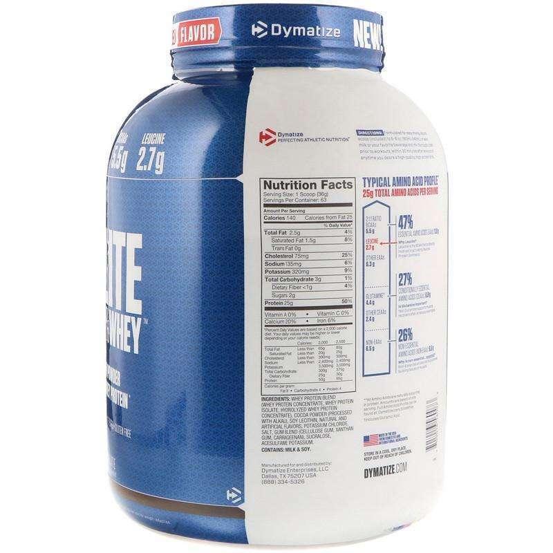 Протеин dymatize elite: состав, схема приема и преимущества