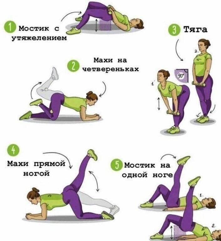 Упражнения для увеличения ягодиц: эффективный комплекс | компетентно о здоровье на ilive