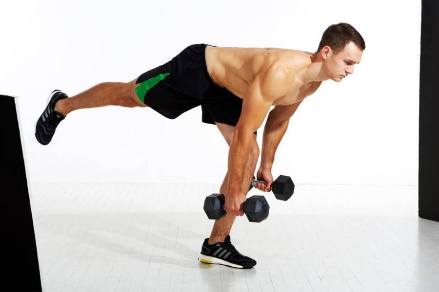 Упражнения с гантелями в домашних условиях для мужчин и женщин: курс базовых упражнений на все группы мышц (100 фото инструкций)