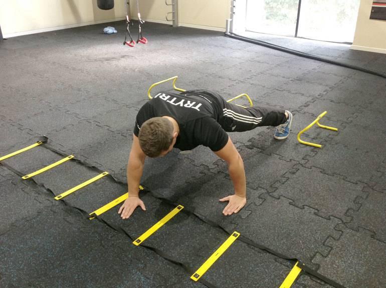 Лестница для тренировок координации