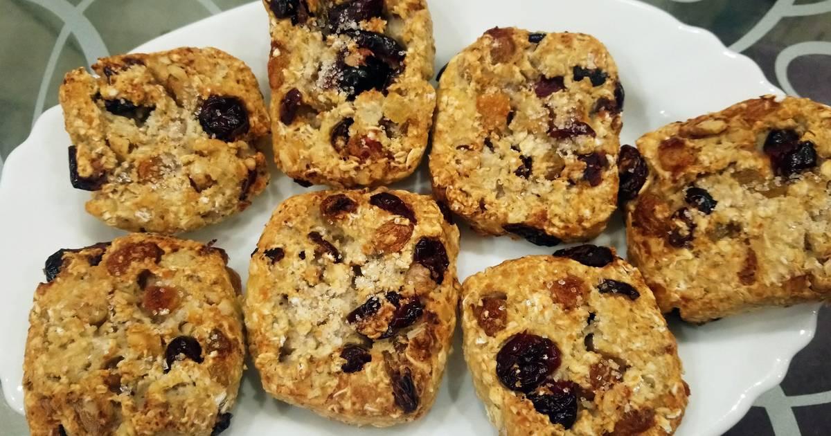 Творожно-овсяное печенье (пп)