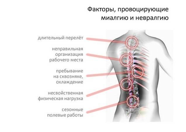Боль между лопаток: причины, сопутствующие симптомы и лечение