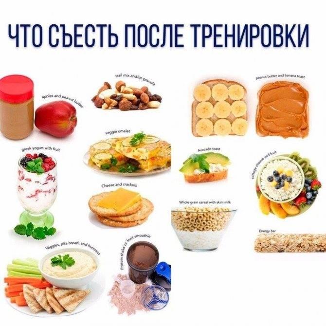 Правила питания после отличной тренировки