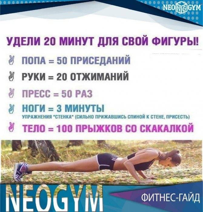 Программа тренировок в тренажерном зале для начинающей девушки