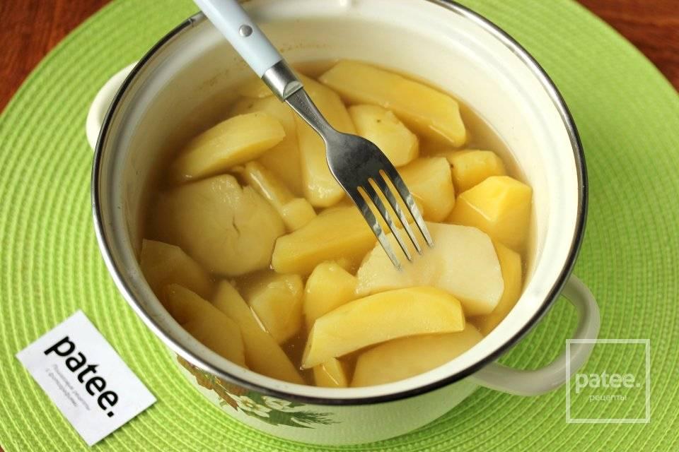 Калорийность картофеля сырого, вареного, жареного, тушеного, фри