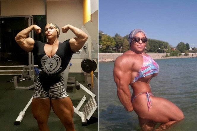 6 девушек, которые отказались от стероидов и изменились до неузнаваемости