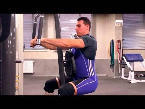 Лучших упражнения на заднюю дельту: + техники выполнения с видео