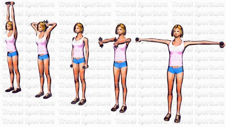 Как похудеть в плечах и руках: упражнения и рекомендации