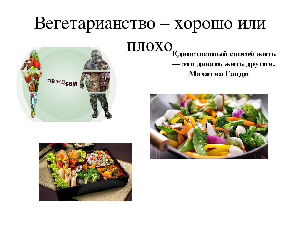 Вегетарианство это хорошо или плохо?
